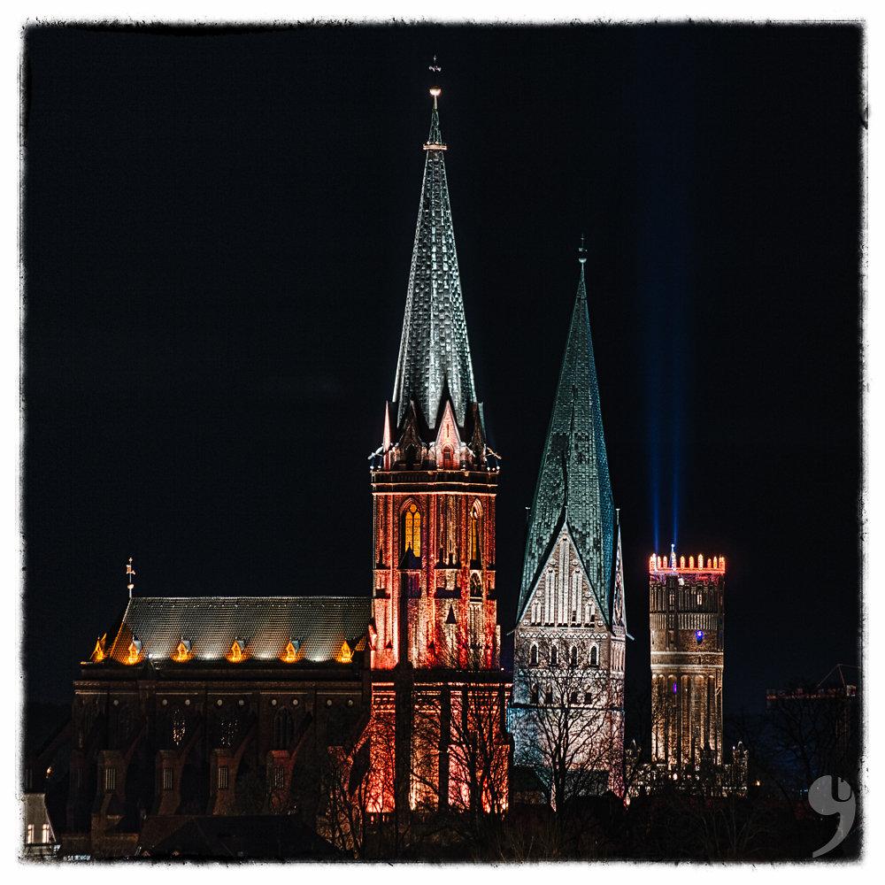 St. Nicolai, St. Johannis, Watertower,